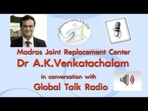 Madras-Joint-Replacement-center-talks-to-Global-talk-radio