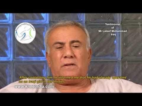 Oxinium-knee-replacement-India-Iraqi-patient-story-Venkatachalam