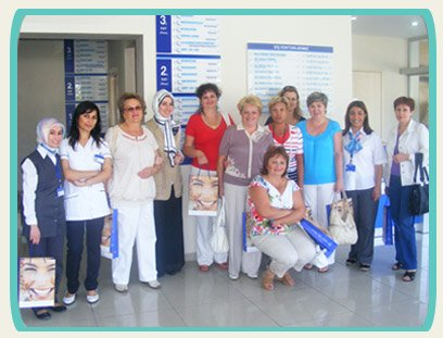 Group of Dental Care Tourists at Hospitadent
