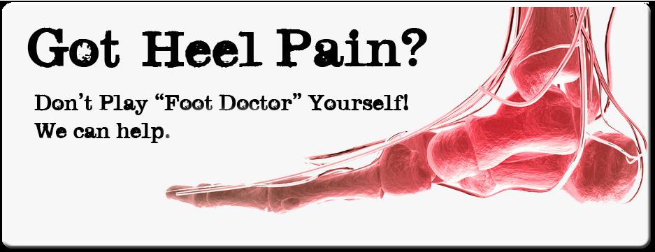 heel pain help