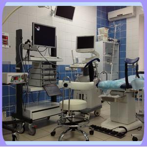Equipment at Nova Clinic Russia