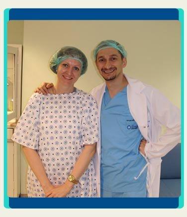 Eye Surgery Patient Birinci Hospital Turkey