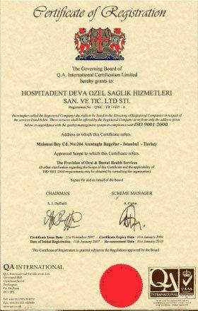 Hospitadent Accreditation