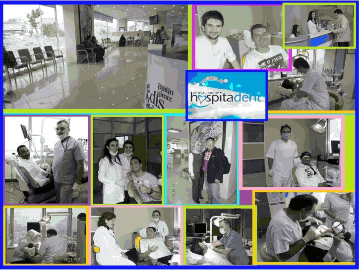 Hospitadent Patient Collage