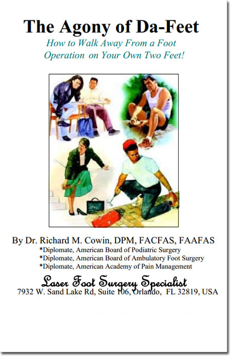 Dr-Richard-M-Cowin-Book-The-Agony-of-Da-Feet