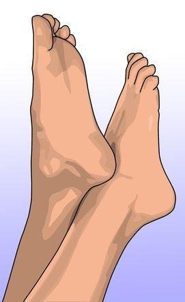 Laser Feet Operation