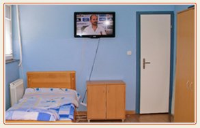 Room in Doctor Vorobiev's Clinic In Serbia