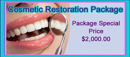 Cosmetic Restoration Package Cost