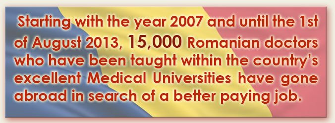 Romanian Doctors Flocking Abroad