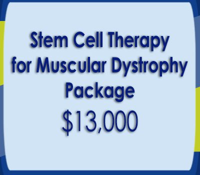 Stem Cell Therapy for Muscular Dystrophy Package