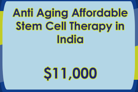 Anti Aging Stem Cell Therapy India