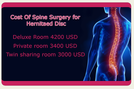 Cost Of Spine Surgery for Spinal Disc Herniation