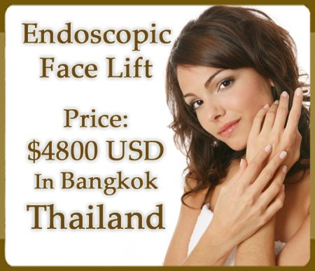 Endoscopic Face Lift in Bangkok Price Tag
