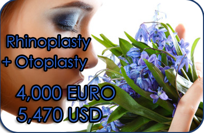Cost of Rhinoplasty and Otoplasty in Greece