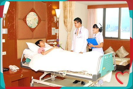 Top Thailand International Hospital Patient Room