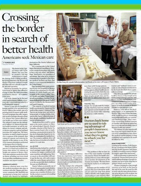 News Article About Dr. Max Greig