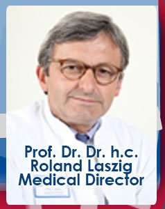 Prof. Dr. Dr. h.c. Roland Laszig Medical Director