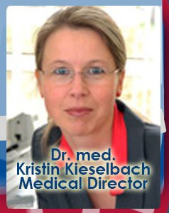 Dr. med. Kristin Kieselbach Medical Director