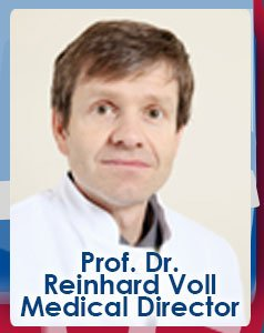Prof. Dr. Reinhard Voll Medical Director