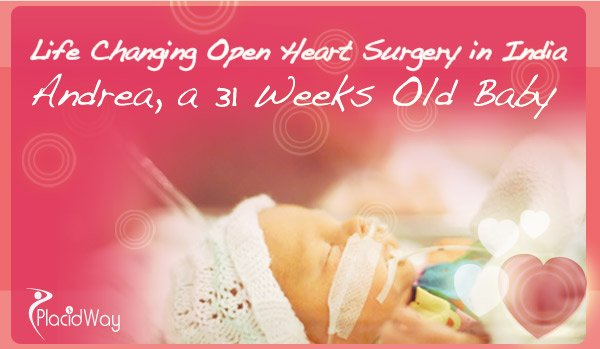 Life Changing Open Heart Surgery in India on Baby