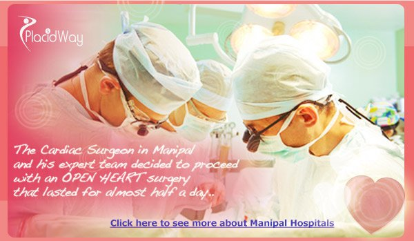 Challenging Heart Surgery on a baby in India