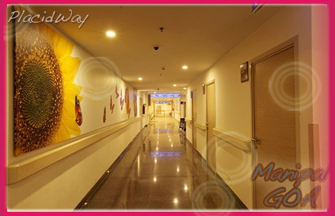 Manipal Goa India Top Hospital Hallway