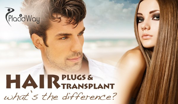 Difference between a Hair Transplant and Hair Plugs