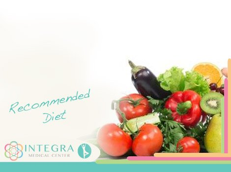 Recommended Diet - Placenta Cell Therapy in Mexico