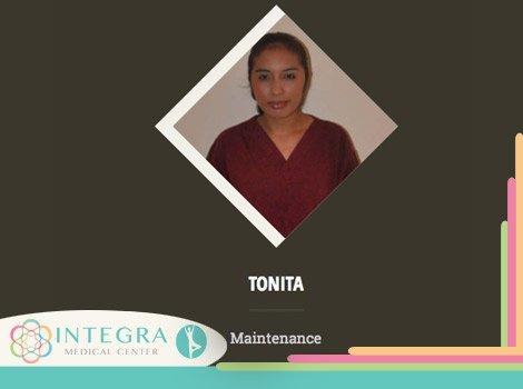 Tonita  - Maintenance - Integra Medical Center - Nuevo Progreso Mexico
