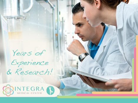 Years of Experience and Research at Integra Medical Center, Mexico