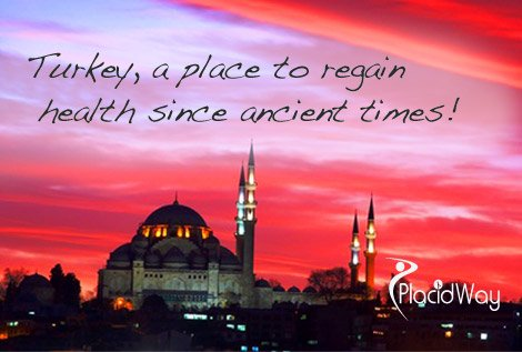 Turkey, a place to regain health since ancient times!