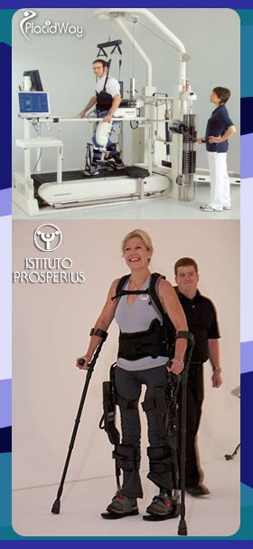 Lokomat Rehabilitation in Umbria Italy Prosperius Institute