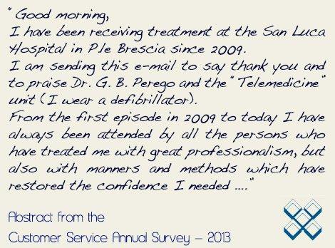 Cardiac Defibrilator Patient Testimonial Italy
