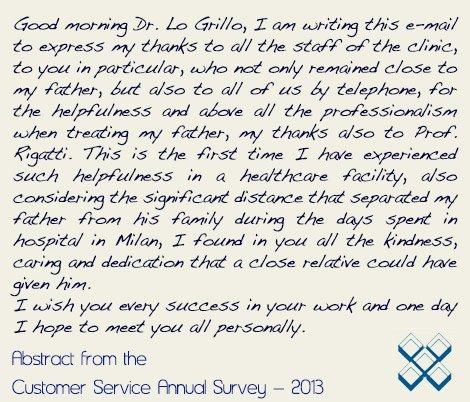 Former Patient Testimonial of Istituto Auxologico Italiano