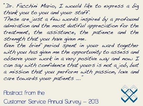 Patient Review Instituto Auxologico Italiano Milano