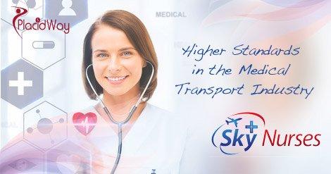 Sky Nurses Medical Transportation Global Patients