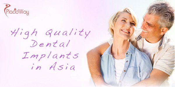 High Quality Dental Implants in Asia