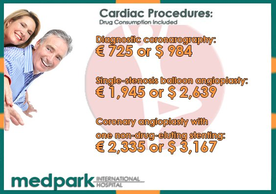 Cardiac Procedures Cost in Moldova Medpark