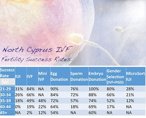 Fertility IVF Success Rates North Cyprus Nicosia Image