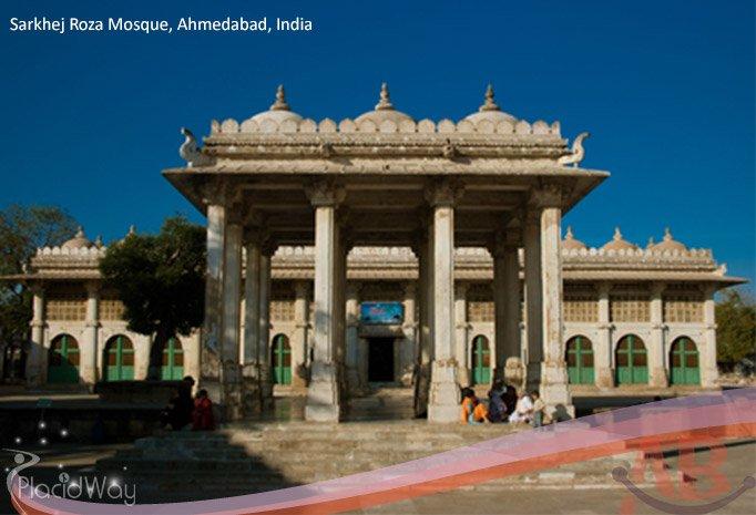 Sarkhej Roza Mosque Ahmedabad India