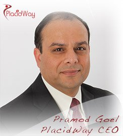 Pramod Goel PlacidWay CEO Author of Medical Tourism Demand Analysis (2014)