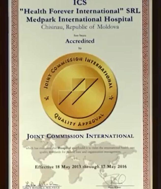 Medpark JCI Accreditation