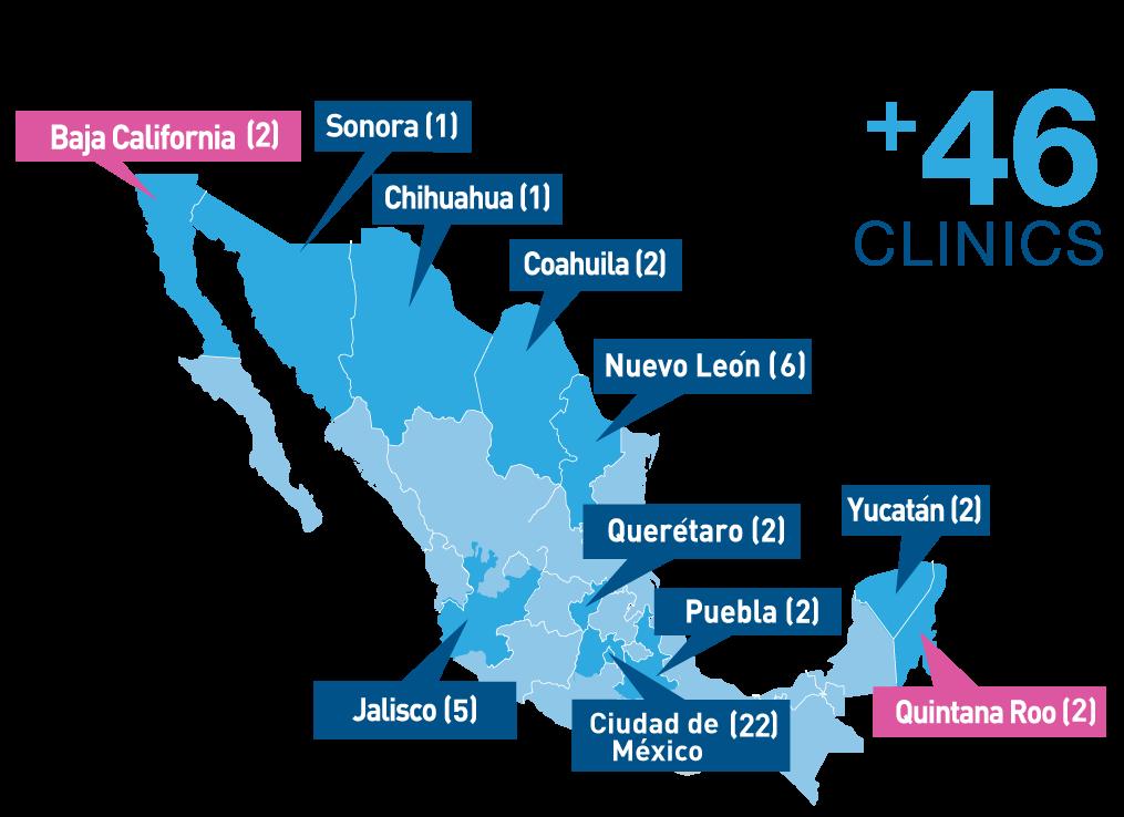 Dentalia - 49 Dental Clinics in Mexico