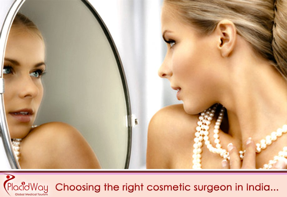 choose the right cosmetic surgeron in india plastic surgery