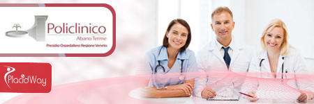 Cancer Treatment Package at Policlinico Abano Terme Italy banner