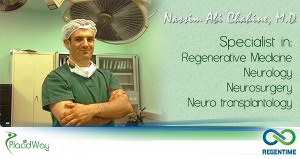 regentime stem cell therapy clinic lebanon beirut Nassim Abi Chahine doctor neurosurgeon