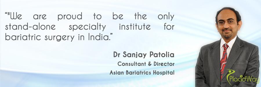 Dr Sanjay Patolia, Director at Asian Bariatrics Ahmedabad India