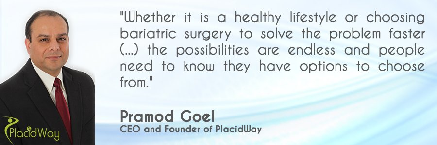 Pramod Goel PlacidWay Medical Tourism CEO and Founder