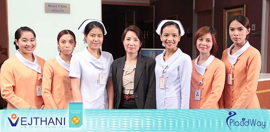 Vejthani Hospital Thailand - International Nurse Staff