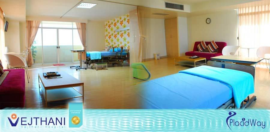 Vejthani Hospital Thailand - Patient Rooms